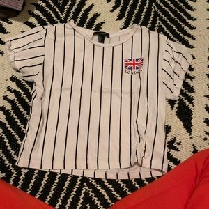 """London"" crop top"